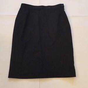 Pendleton A Line Wool Skirt